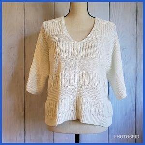 Uniqlo Butterfly Wing Sleeve Sweater
